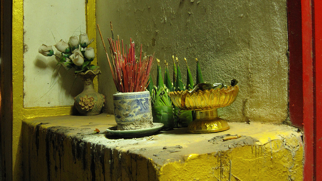"""""""Altar Outside Home - Vientiane, Laos"""" from AG Gilmore [Anita Gilmore] on Flickr"""