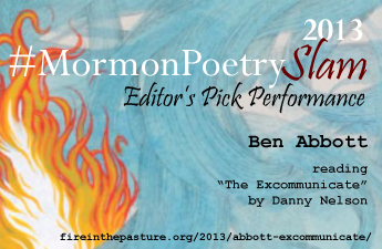 2013 #MormonPoetrySlam Editor's Pick Performance