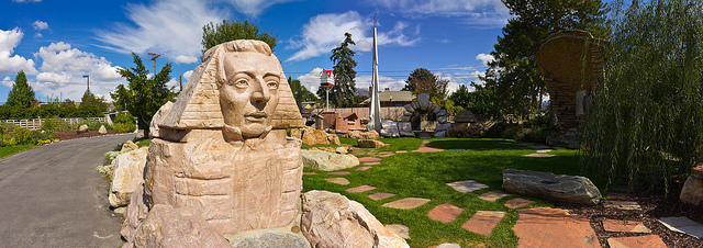 """Gilgal Garden Joseph Smith Sphinx"" from Photo Dean on Flickr"