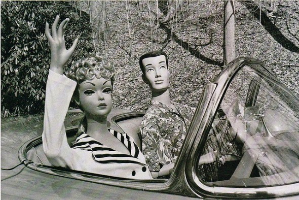 """...Barbie and Ken out for a spin"" from x-ray delta one on Flickr"